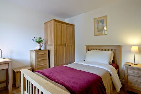 Peaceful single room in Dartington, Totnes. - Huis