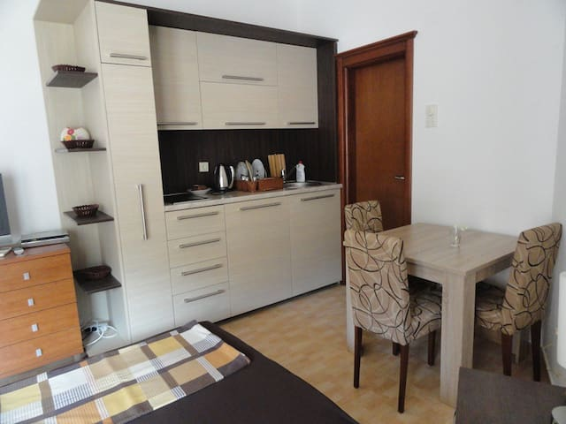 Studio apartment-50meters to the beach,Rafailovici - Rafailovići - อพาร์ทเมนท์