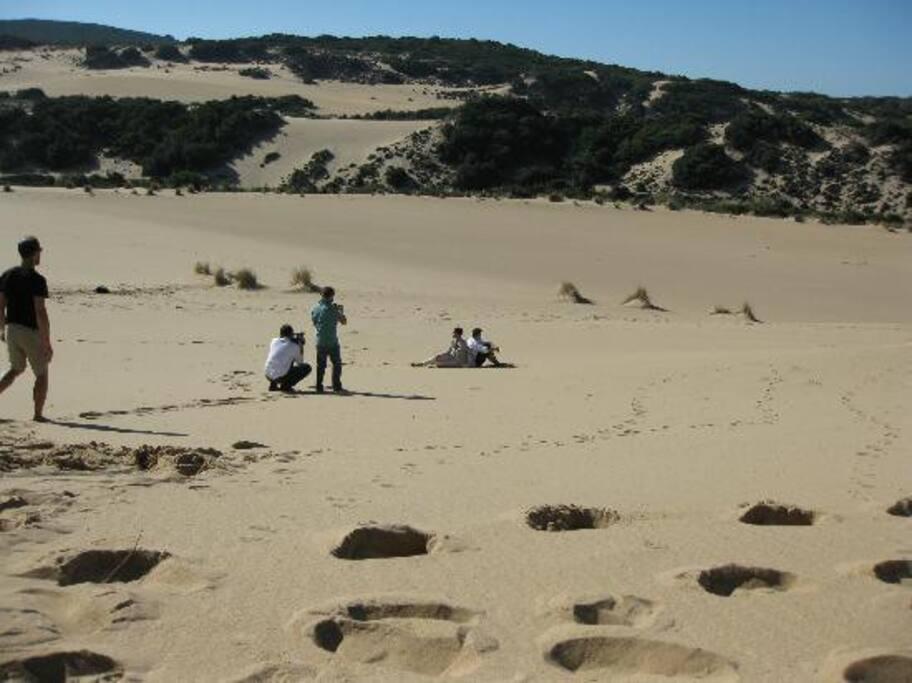 Piscina le Dune..posto unico...in mezzo alla natura.. piu grande  deserto d'Europa..