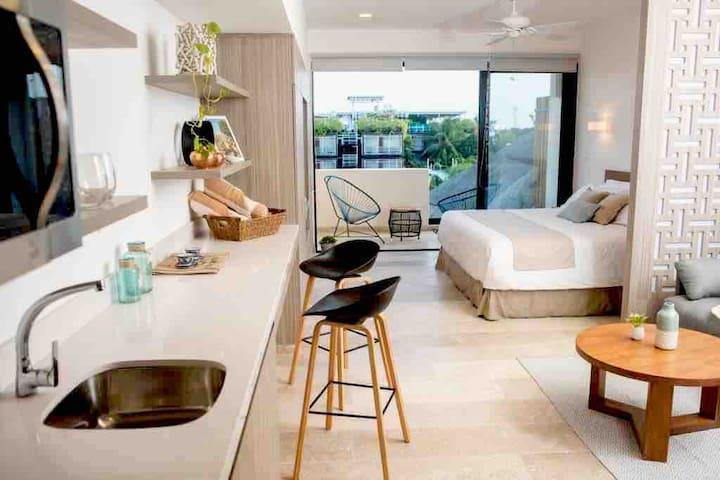 New luxury studio on 5th Ave. Acceso  Beach club