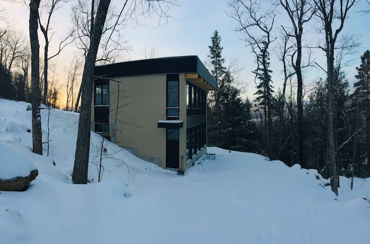 Chalet 99 at Mont Ste Marie (ski-in, ski-out)