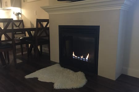 Cozy, Intimate Fireplace and Open Concept - Abbotsford