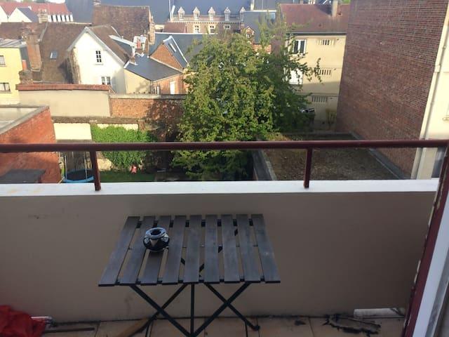 Studio plein centre Beauvais proche Aéroport - Beauvais - Apartment