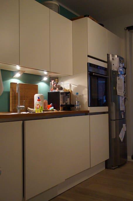 Küche (vollausgestattet)