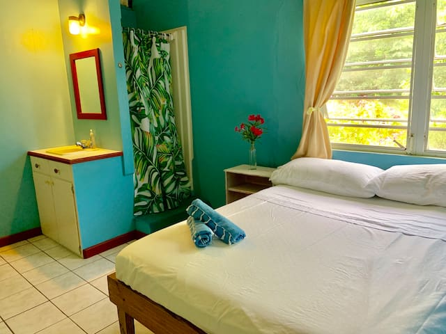 The Waterfront Antigua - Private Double Room