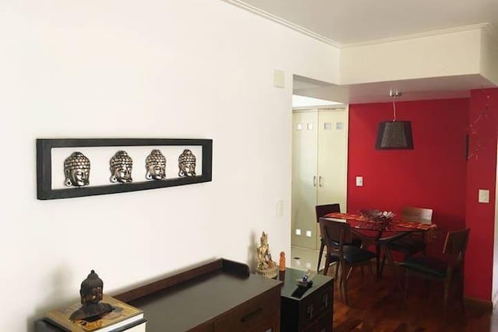 Apartamento aconchegante em Higienópolis - São Paulo - Byt