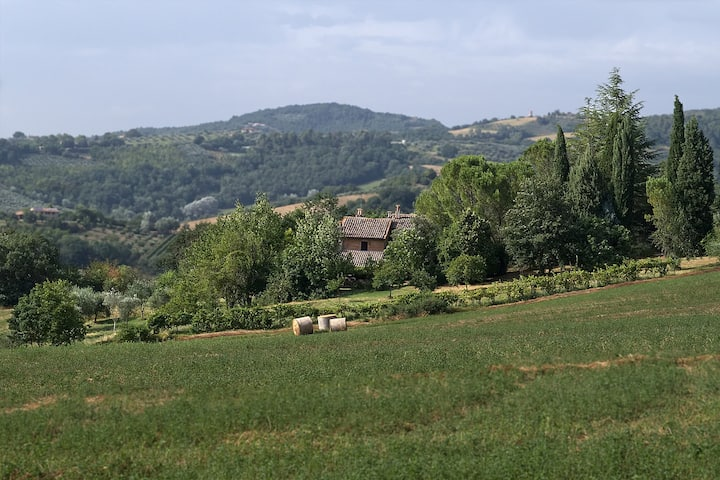 A country apartment in Umbria