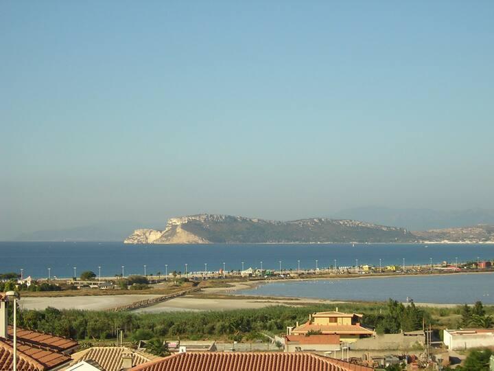 casa con vista a 500 mt. dal mare
