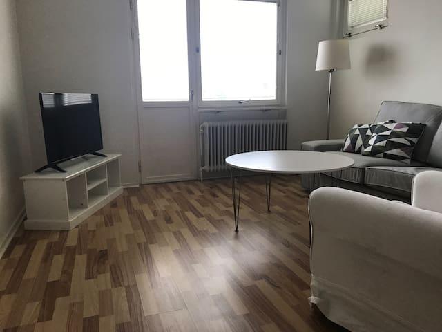 Egen lägenhet i centrala Norrköping