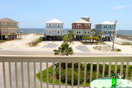 *** Ocean View condo *** with Pool & Lagoon access - Gulf Shores - Departamento