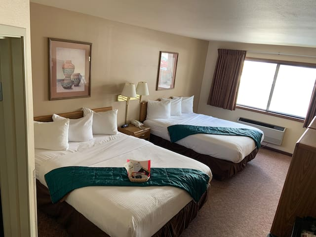 Comfortable and clean rooms with full private bath