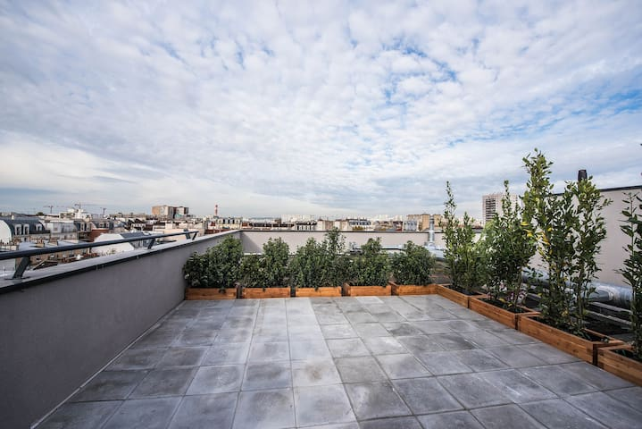 New Duplex & Terrace 601 - Clichy - Departamento