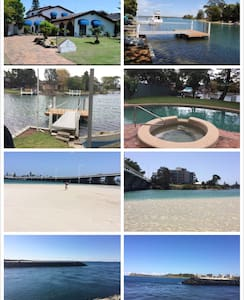 Waterfront house, private room - Tuncurry - Haus
