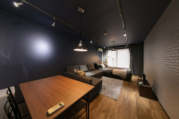 Osaka cozy room for 5! Shinsaibashi Area #704