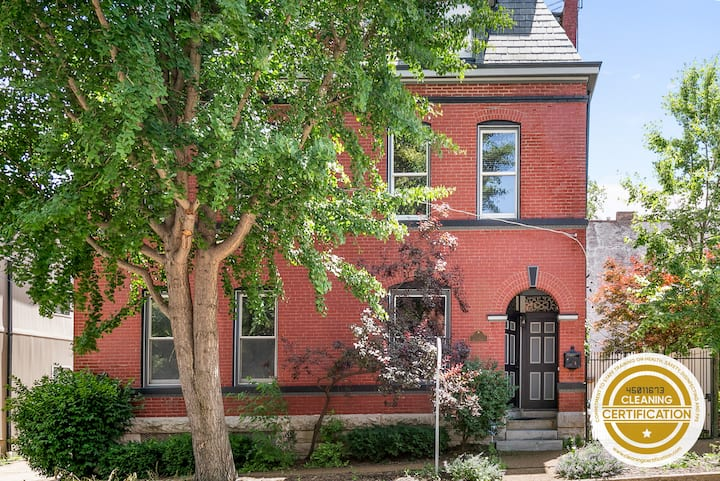 Polished and Luxurious 4 Floor Soulard Family Home