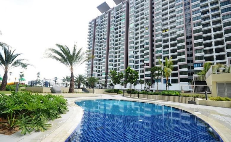 ★Simple★Cozy★3BR2B★Bandar Sri Damansara★6 Pax★MRT★