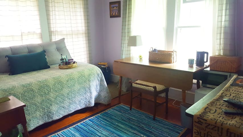 Room&Bath near Uptown & Lightrail w/ fridge/snacks