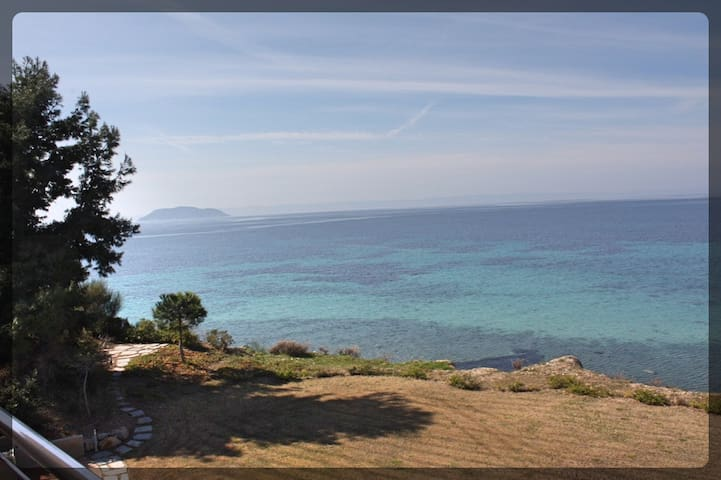 Big Luxury  Apartment with Private Beach (Δ7) - Chalkidiki - Aparthotel