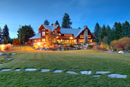 Spectacular Lodge on the River - Laclede - Casa