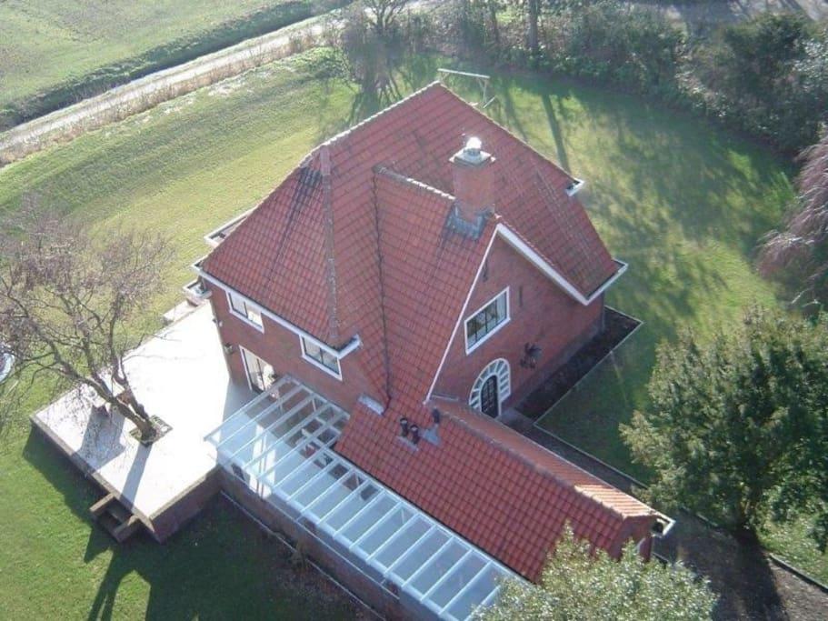 Villa with big terrace