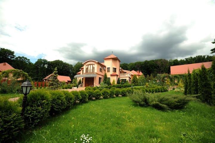 Элитный дом в Закарпатье