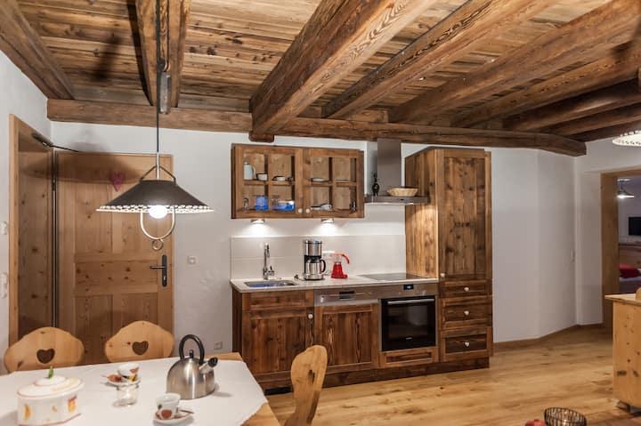 Residence Mitterdorfer in den Bergen der Dolomiten