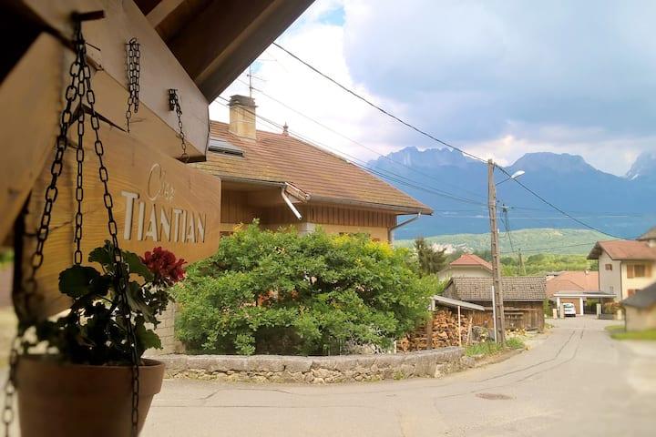 Appartement neuf au calme entre lac et montagne