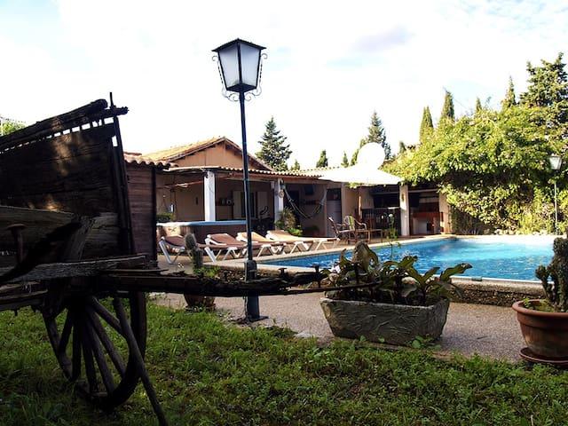 Casa de campo  con piscina en la Rutadel vino. - Santa Maria del Camí - 別荘