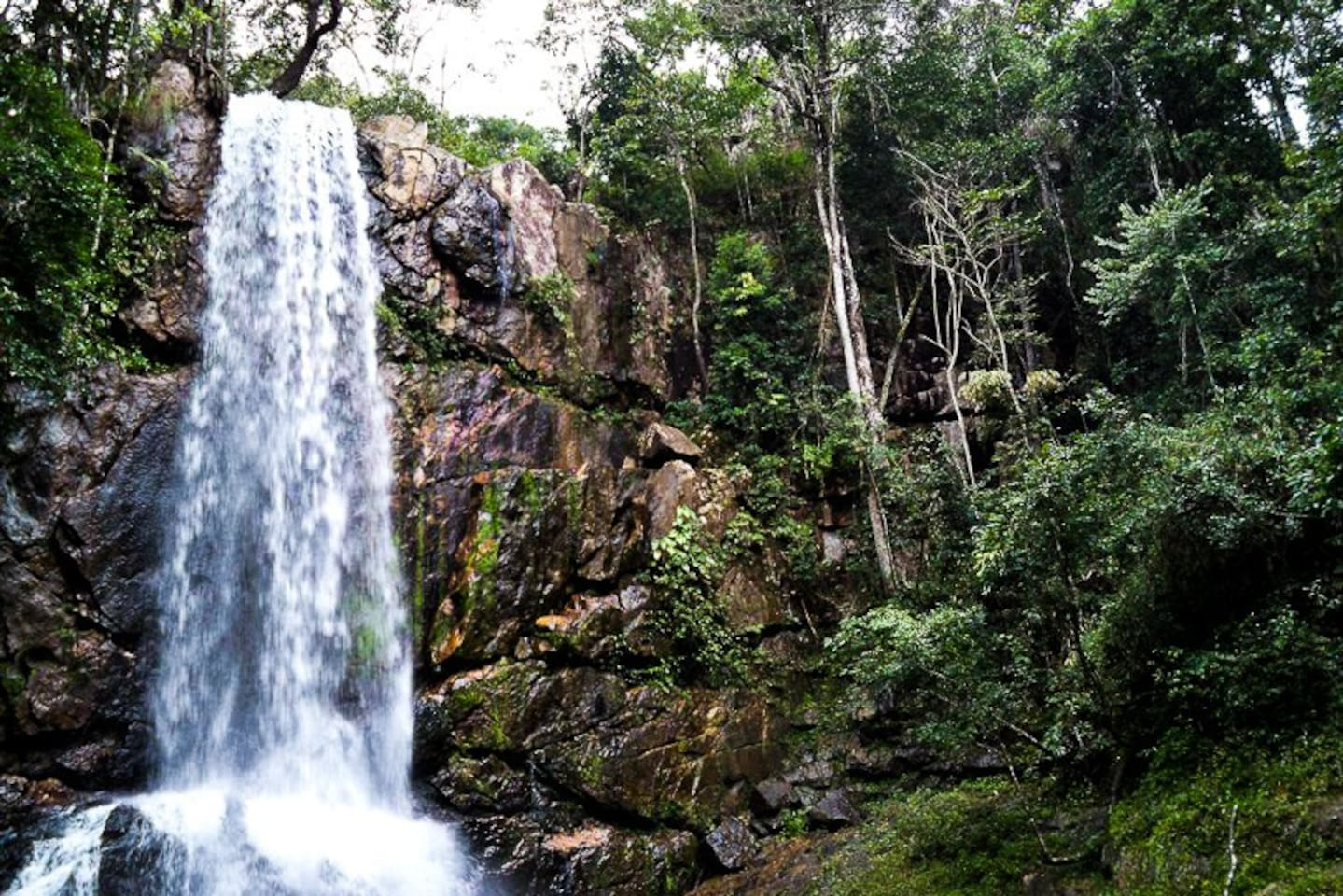 Cachoeira do Tororó há uns 3 KM do local da hospedagem