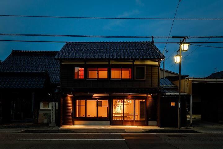 築百年の金沢町家をリノベーション