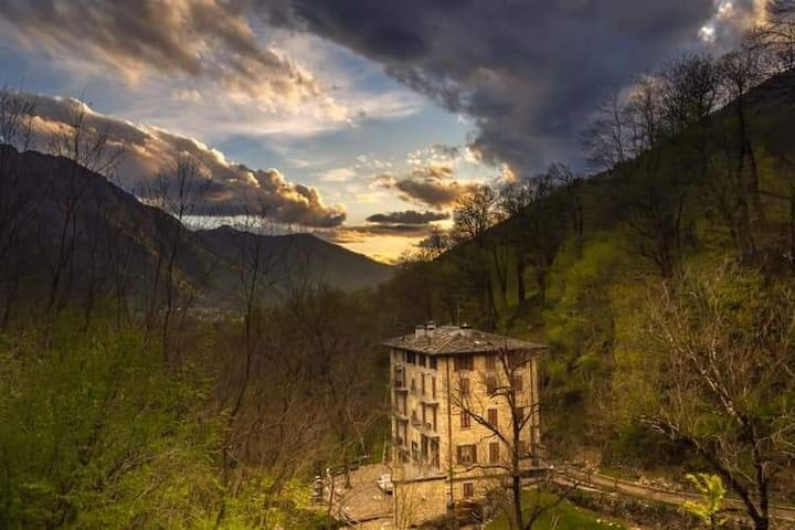 Antico mulino restaurato