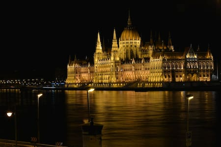 Fantastic view to the Parliament - Budapest