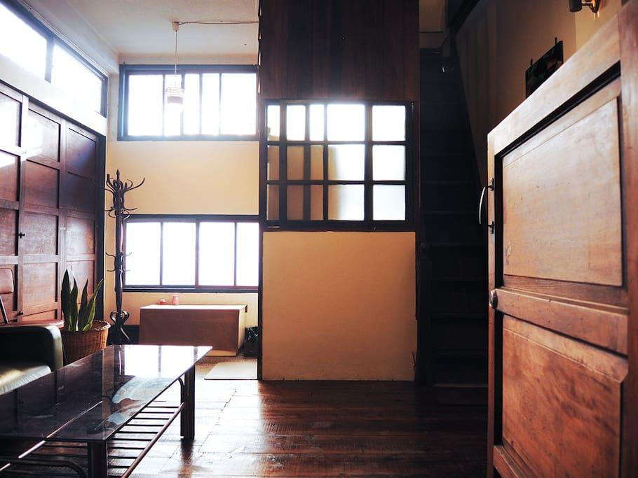 天天樂一樓客廳