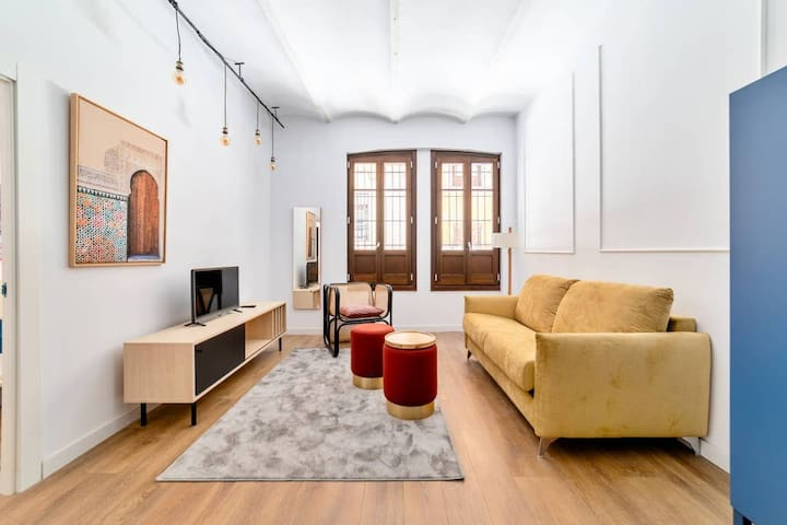 Chic basement 1 bed Flat in central GranadaMT