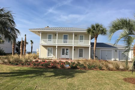 Waterfront Soundside Beach house - Pensacola Beach - Casa