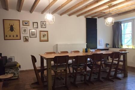 Chez le roi du bois, vakantiehuis aan het bos