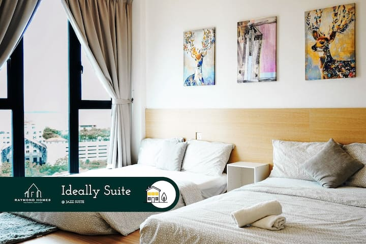 Vitamin-Seaview 2BR w/ Bathtub [13A] @Straits Quay