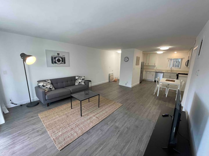 Spacious 2BD/1BA New Finishes w/ Balcony, Parking