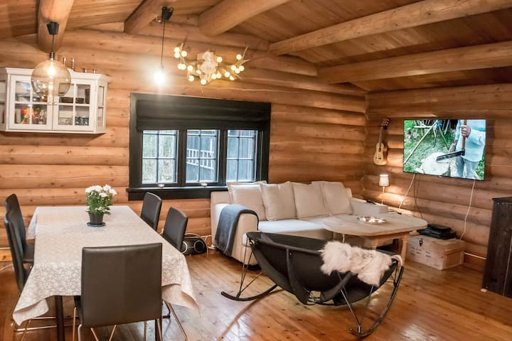 Romantic Mountain Lodge