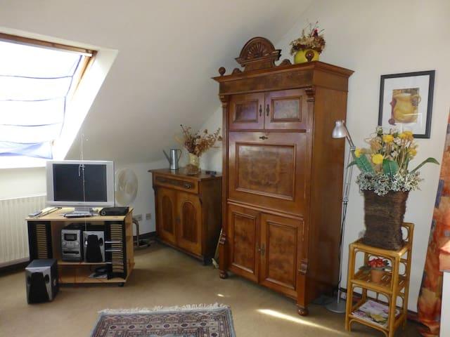 Charming attic room