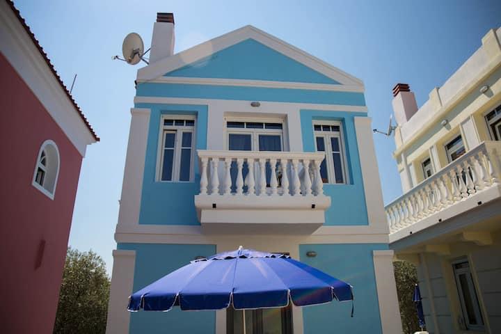 Villa Polymnia, 2 bedrooms, Limenaria, Thassos