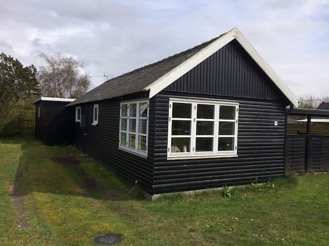 Traditionelt dansk sommerhus