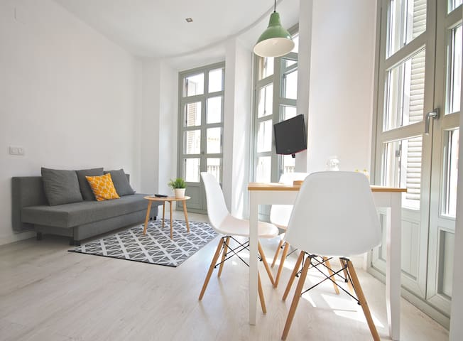 Urban Apartment with Balcony in Historic District