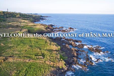 Hāna Ocean Front Cottage - Hāna - Casa