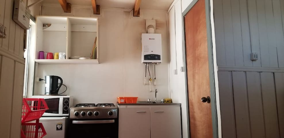 Cabañas CasaBlanca (2) Para 2 personas INTERIOR