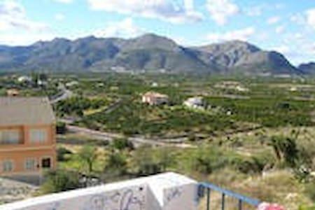 Casa de pueblo magnificas vistas - Benidoleig - Ev