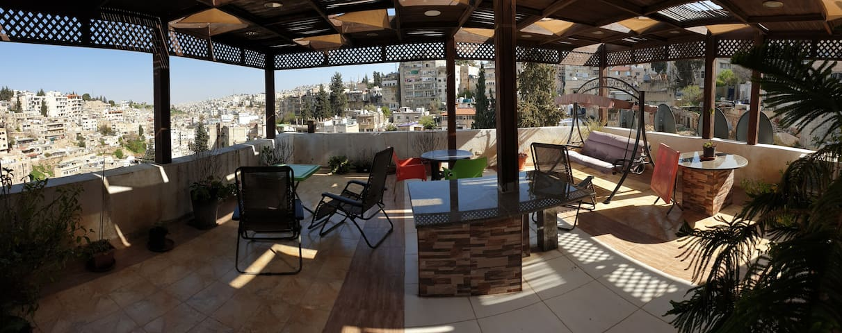 Functional, bright, comfy, and in Jabal Amman
