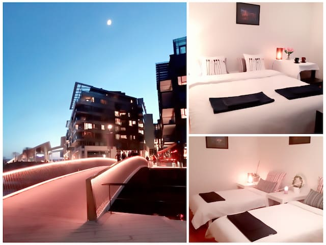 WOW *Best Location Oslo Harbor* Nice Room 2 Bikes! - Oslo - Apartment