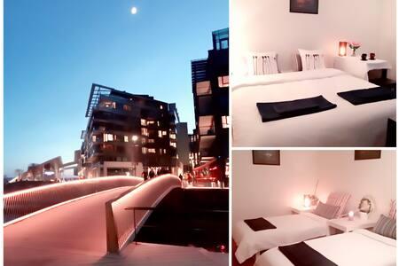 WOW *Best Location Oslo Harbor* Nice Room 2 Bikes! - 奥斯陆 - 公寓