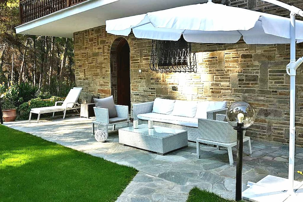 Front garden- Leisure place